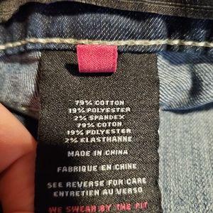 torrid Jeans - Torrid Dark Wash Faded Look Bootcut Jeans